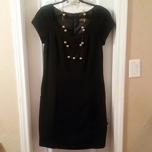 Virgo. Dress black lined
